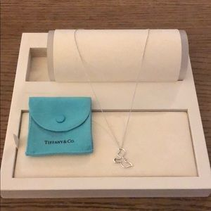 TIFFANY & CO Paloma Picasso Dove Pendant Necklace